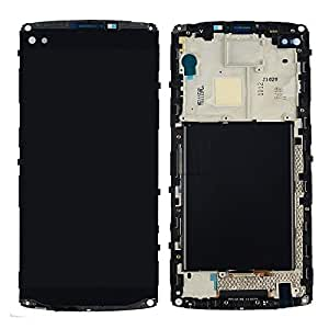 LCD Display Touch Screen Digitizer with Frame Assembly Replacement for LG V10 H900 H901 VS990