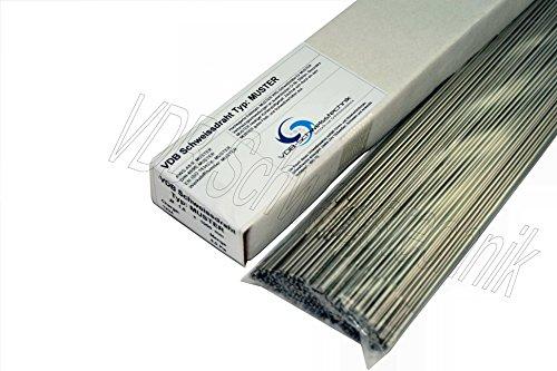 1.4316 - 1,0 x 1000 mm Edelstahl Schweißdraht V2A 308 Draht INOX