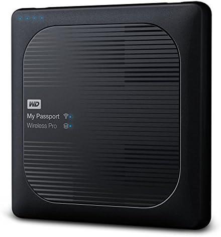 WESTERN DIGITAL 4TB My Passport Wireless Pro Portable External HDD WiFi & USB3.0 [並行輸入品]