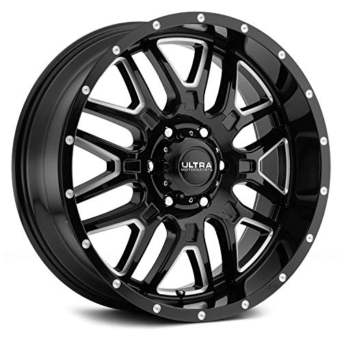 Ultra 203BM Hunter 20x9 6x135 +18mm Black/Milled Wheel, used for sale  Delivered anywhere in USA