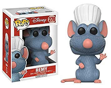 Funko POP Disney Ratatouille Remy (Styles May Vary) Action Figure Funko Pop! Disney: 12411 Accessory Toys & Games