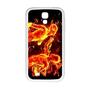 ORIGINE Fire Man Custom Protective Hard Phone Cae For Samsung Galaxy S4