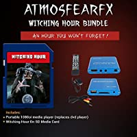 Atmosfearfx Witching Hour SD Card Media Player. Replaces Bulky DVD Player