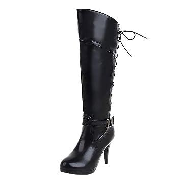 9ee397254871 Amazon.com  Wide Calf Knee High Boots