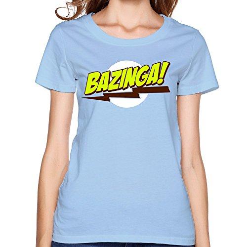 HM Women's Tshirt Bazinga Big Bang Theory T-Shirt Size XXL - Family Beckham Photo