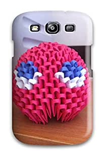 Hard Plastic Galaxy S3 Case Back Cover,hot D Origami Case At Perfect Diy