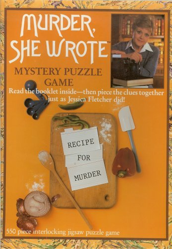 (Murder, She Wrote Mystery Puzzle Game - Recipe for Murder)
