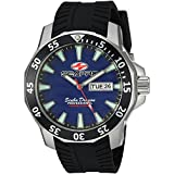 Seapro Men's 'Scuba Dragon Diver LTD' Quartz Stainless Steel Casual Watch, Color:Black (Model: SP8316)