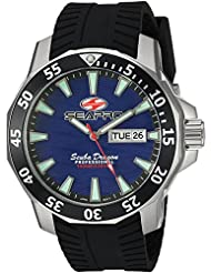 Seapro Mens Scuba Dragon Diver LTD Quartz Stainless Steel Casual Watch, Color:Black (Model: SP8316)