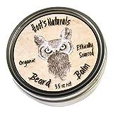 Hoot's Naturals Beard Balm, Extra Large 3.5oz Organic Beard Oil &...