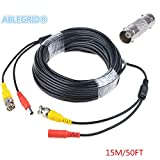 Fite ON 25ft BNC Video Power Cable Cord for Samsung Camera SDH-B74041 SDH-B74081