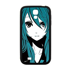 Green hair lovely girl Cell Phone Case for Samsung Galaxy S4