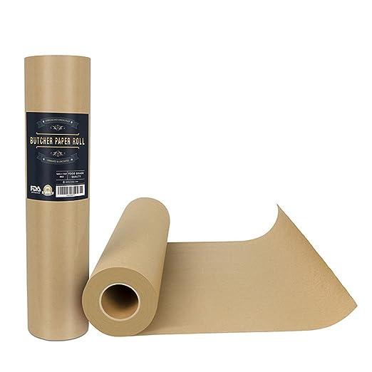 Barbecue Papier Metzgerpapier Kraftpapier Packpapier Metzgerpapier FDA-Zertifizierung, Geeignet Für Lebensmittel, Geschenkpap