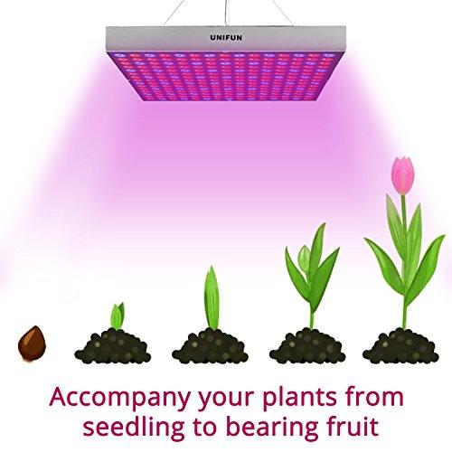 45w Led Grow Light Unifun New Light Plant Bulbs Plant