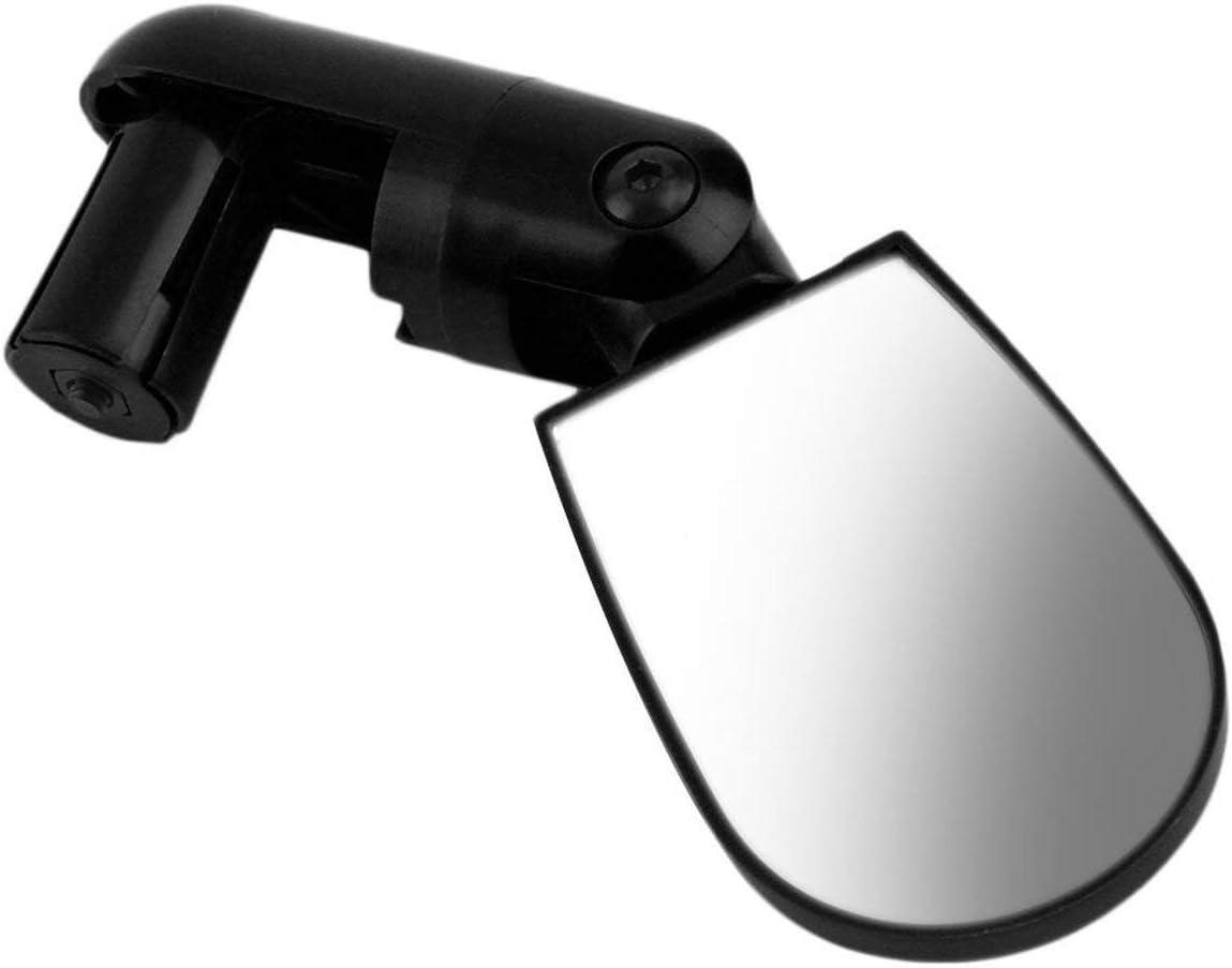 Mini Noir Flexible Rotation S/écurit/é V/élo V/élo Moto R/éflecteur Auto Guidon R/étroviseur Guidon pour Ext/érieur Noir FRjasnyfall