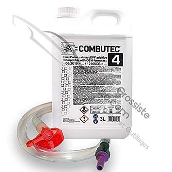 Kit de llenado cérine aditivo negro fap f.a.p combutec 4 3L Warm Up: Amazon.es: Coche y moto