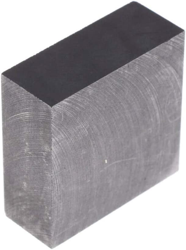 2 Pcs Dumadf Graphite Block High Purity 99.9/% Electrode Casting Tool Rectangle Plate 50x50x20mm