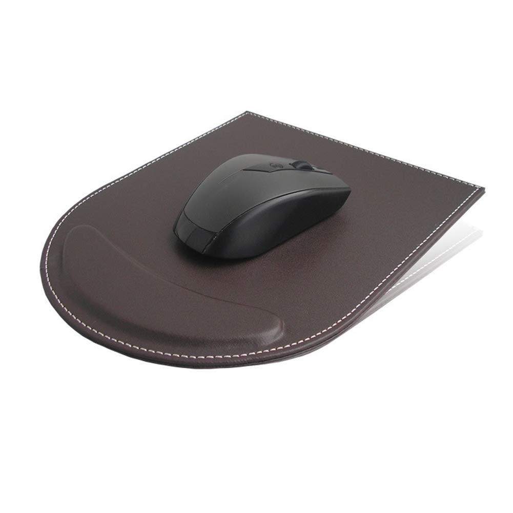 PC e Laptop caff/è TLfyajJ Gaming Mouse Pad Tappetino Mouse Impermeabile Resistente all/'Acqua,Supporto per poggiapolsi in Ecopelle,Supporto per Computer