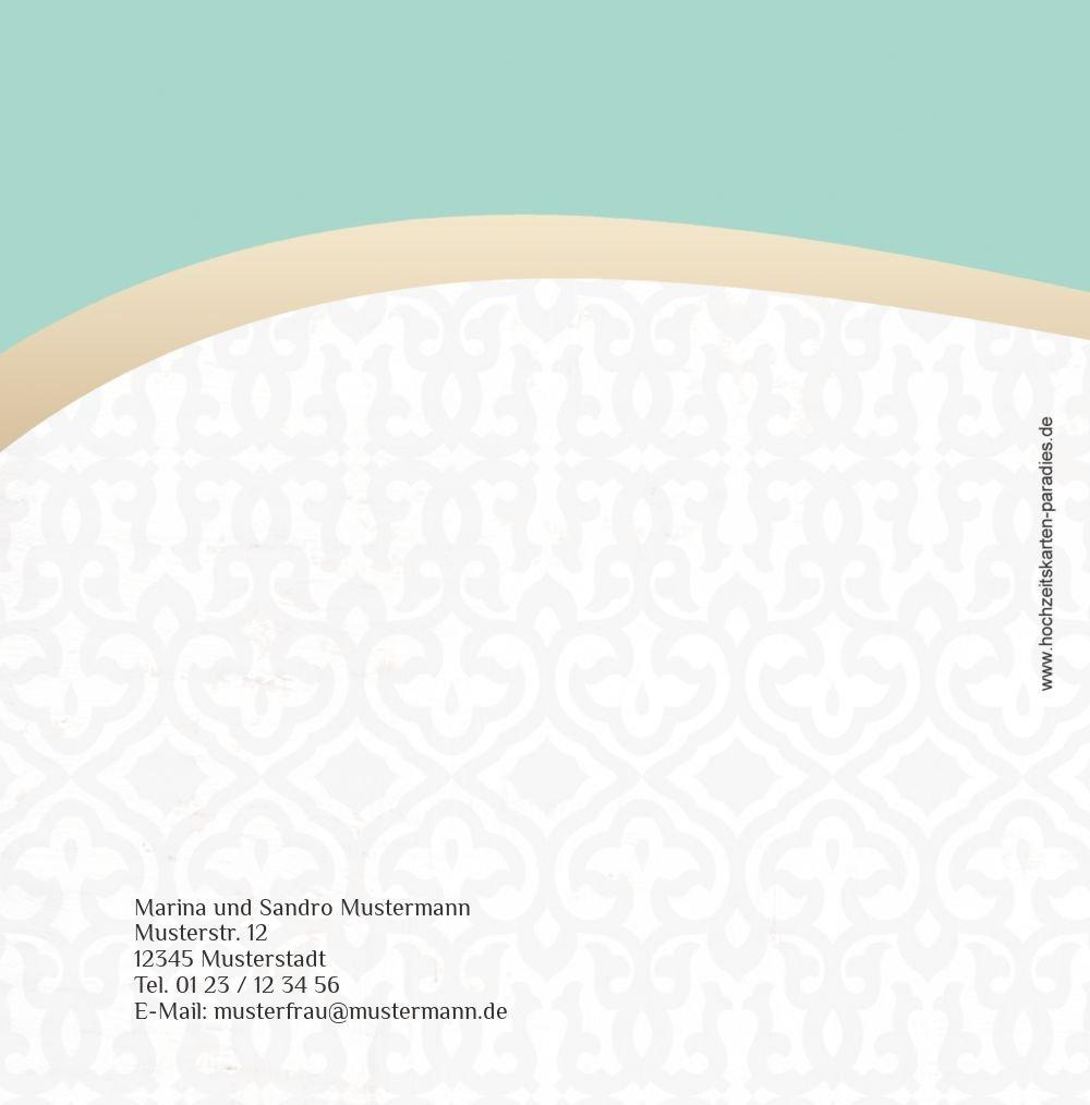 Kartenparadies Danksagung für Hochzeitsgeschenke Hochzeit Dankeskarte Unzertrennlich, hochwertige hochwertige hochwertige Danksagungskarte Hochzeitsglückwünsche inklusive Umschläge   20 Karten - (Format  145x145 mm) Farbe  ApfelGrün B01N4QEVVS | Haben Wi 9357ad
