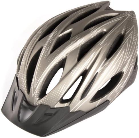 Ultrasport Tours - Casco de ciclista, color plateado, talla 58-62 cm: Amazon.es: Deportes y aire libre