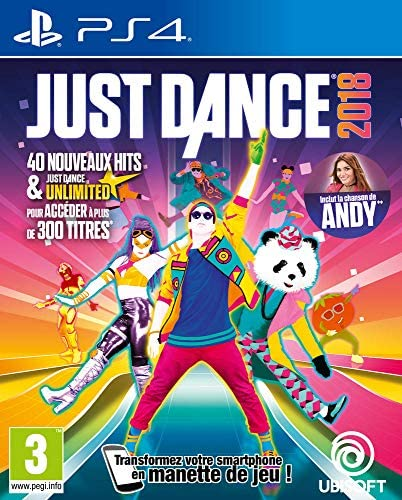 Just Dance 2018 [Importación francesa]: Amazon.es: Videojuegos
