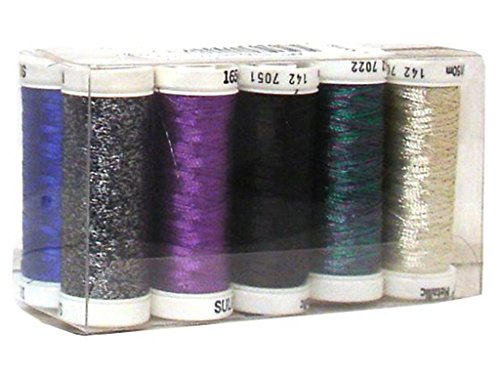 Sulky SUL142.1 Thread Sampler Original Metallic Top 10 Thrdsampleroriginalmetaltop10 (Sulky Thread Metallic)