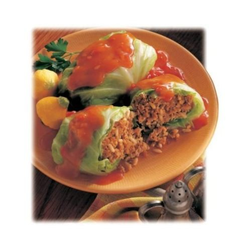 Stuffed Beef (Conagra Award Cuisine Stuffed Cabbage Roll with Beef in Tomato Sauce, 92 Ounce - 4 per case.)