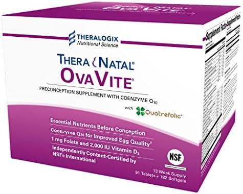 TheraNatal OvaVite Preconception Prenatal Vitamins (91 Day Supply)