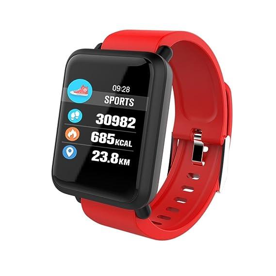 Smart Watch Reloj Inteligente Bluetooth 4.0 GPS Fitness Tracker Reloj Deportes Inteligentes Podómetro Sueño Notificación de SMS Pulsera Actividad ...