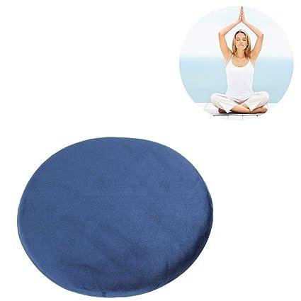 Ritapreaty Almohada de meditación Yoga, Memoria Algodón ...