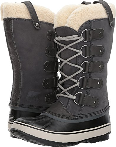 SOREL Women's Joan Of Arctic Shearling Boot Dark Grey/Black 9 B(M) US (Cuff Shearling Boots)
