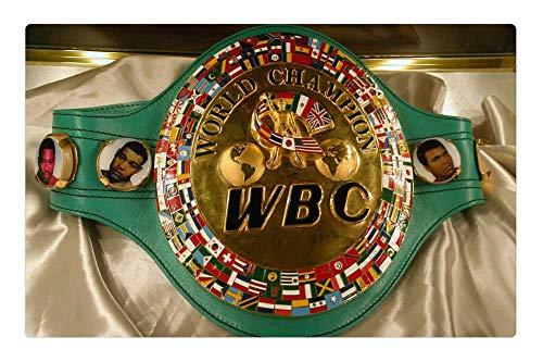 (Tree26 Indoor Floor Rug/Mat (23.6 x 15.7 Inch) - Sport History World Boxing Council Championship Belt)
