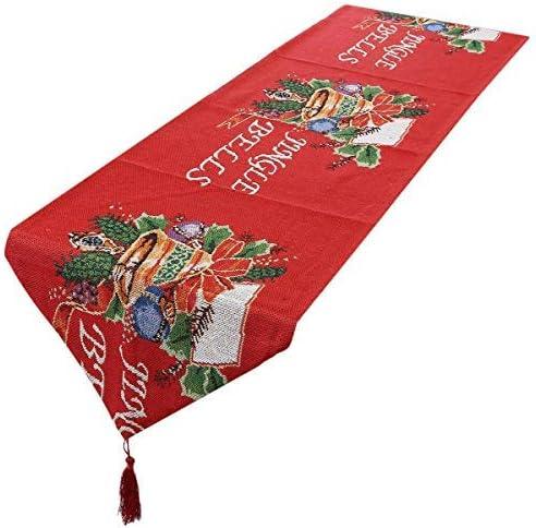 mookaitedecor - Camino de Mesa de Navidad Impreso para Comedor ...