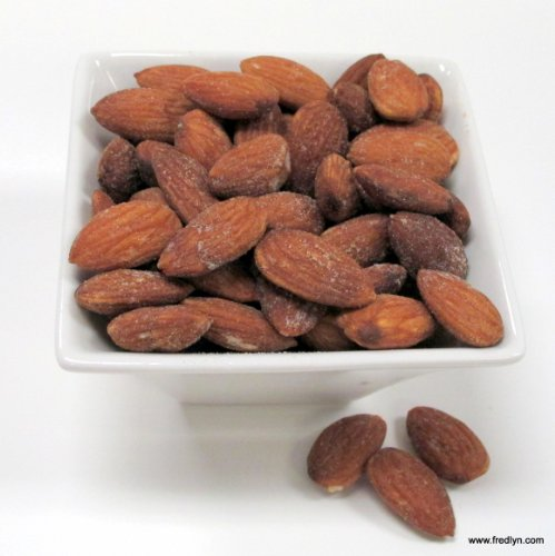 Roasted Salted Almonds, 5 Lb. Bulk Bag by Fredlyn Nut Company