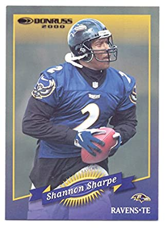 promo code 17f23 9ec54 Shannon Sharpe 2000 Donruss #11 - Baltimore Ravens at ...