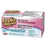 Pepto-Bismol InstaCool Peppermint Chewable Tablets-30ct
