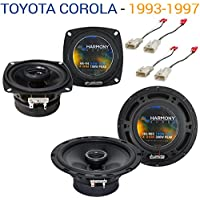 Toyota Corolla 1993-1997 Factory Speaker Upgrade Harmony R4 R65 Package New