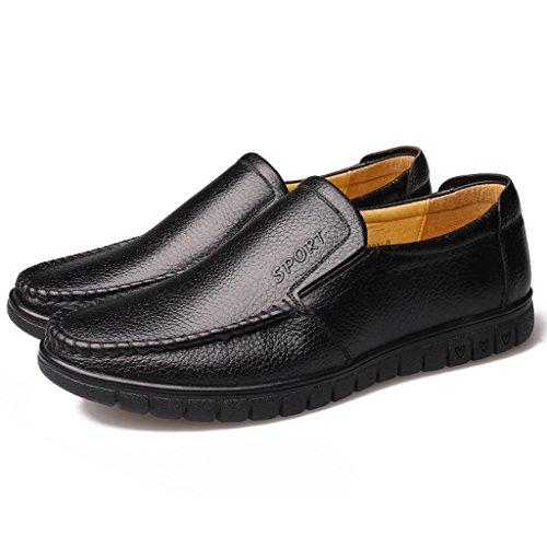 Negocios Hombre Libre al Trabajo Zapatos Conducción de Ancianos Zapatos de Aire para Zapatos Black Zapatos de Zapatos de Hnq5vv