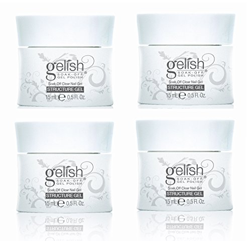 4) Gelish 01247 Structure Soak Off Curable Gel Nail LED Clea