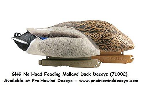 Avery Greenhead Gear, Lifesize Mallard No-Head Feeder Duck Decoys, 71002 - 2 Pk