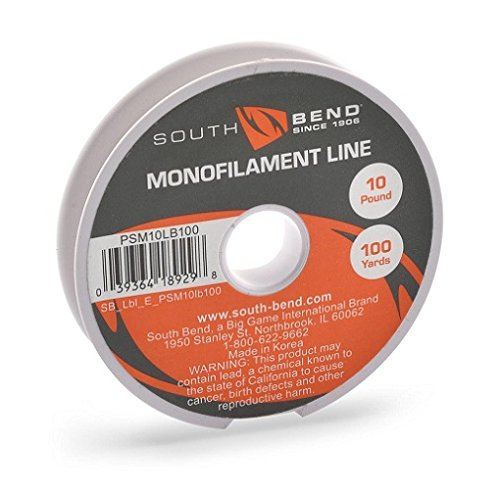 South Bend Pony Spool PSM10LB100 Monofilament 10lb/100Yard Line
