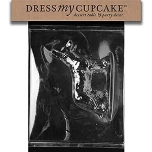 Dress My Cupcake DMCDOG005BSET Chocolate Candy Mold, German Shepherd Dog 2, Set of 6
