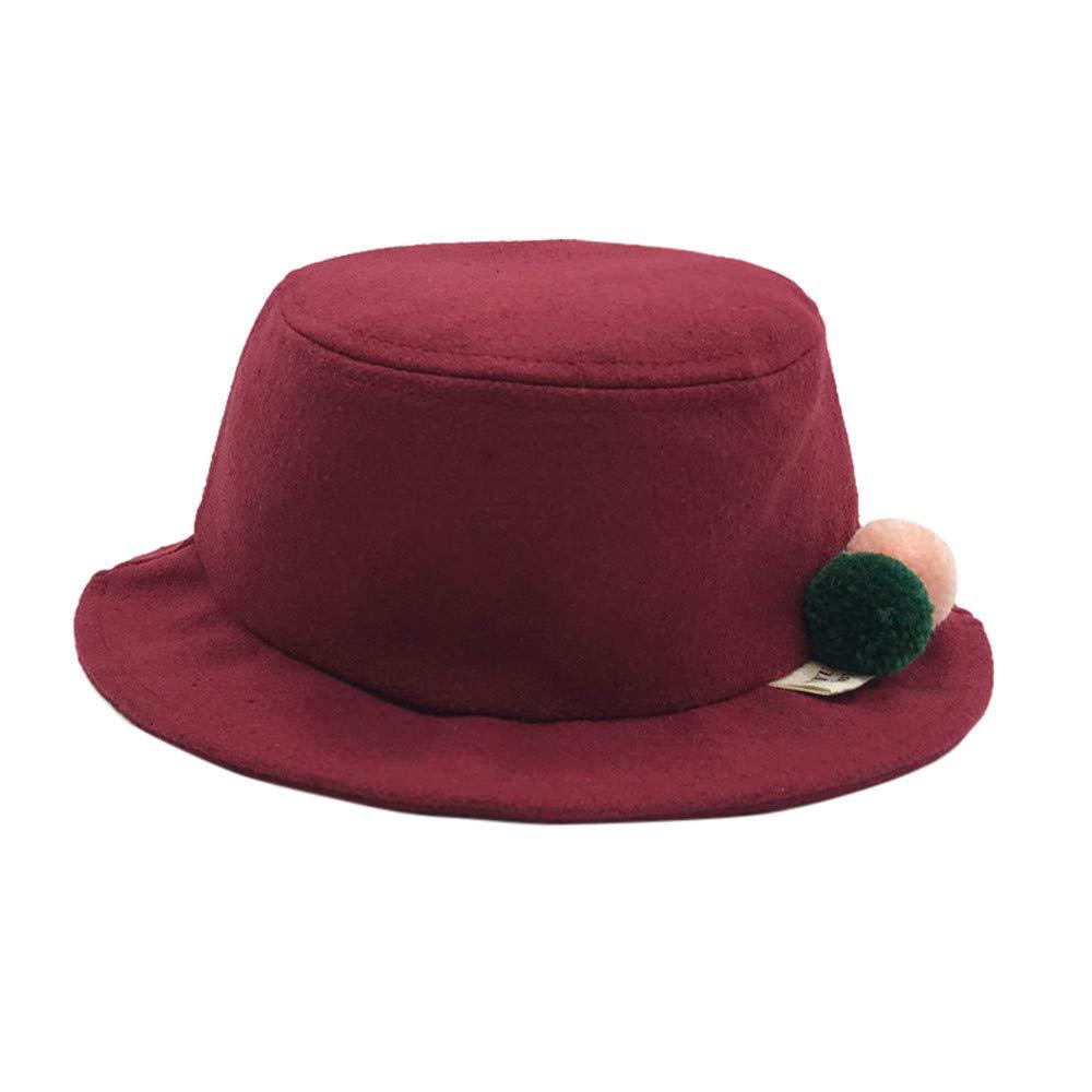 Memela Baby Winter Hat,Baby Vintage Style Cloche Bucket Hat Winter Beanie Hat Winter Warm Cap