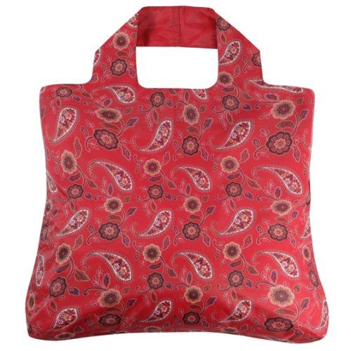 Envirosax AN.B4 Anastasia Reusable Grocery Bag, Red Envirosax Red Bag