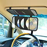 TFY Car Visor Organizer. Triple-layer, 30 CD/DVD
