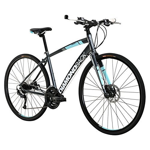 Diamondback Clarity 3 Women's Street Hybrid Bike - 2016 Performance Exclusive LARGE SILVER