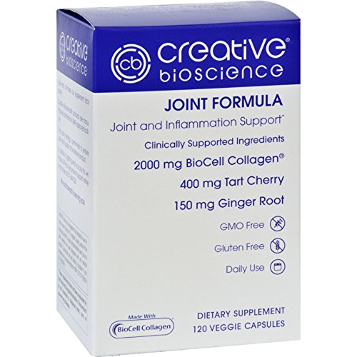 Creative Bioscience Joint Formula - 120 Vegetarian Capsules (Pack of 3)