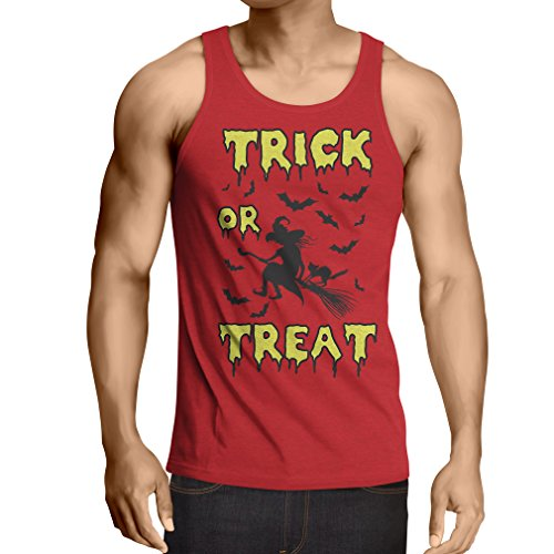 lepni.me Vest Trick or Treat - Halloween Witch - Party outfites - Scary Costume (X-Large Red Multi Color) ()