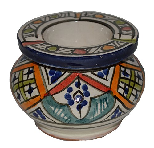 Moroccan Smockless Ashtray Hand Made Medium
