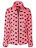 Warm-Up Jacket (Heart 2 Forget U Coral Cove;3X-Large)
